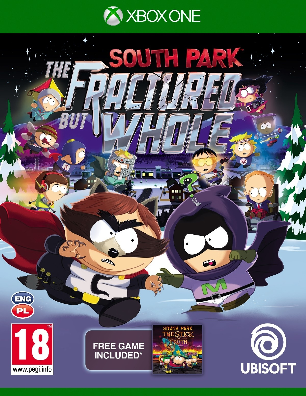 South Park The Fractured But Whole PL (Xbox One)